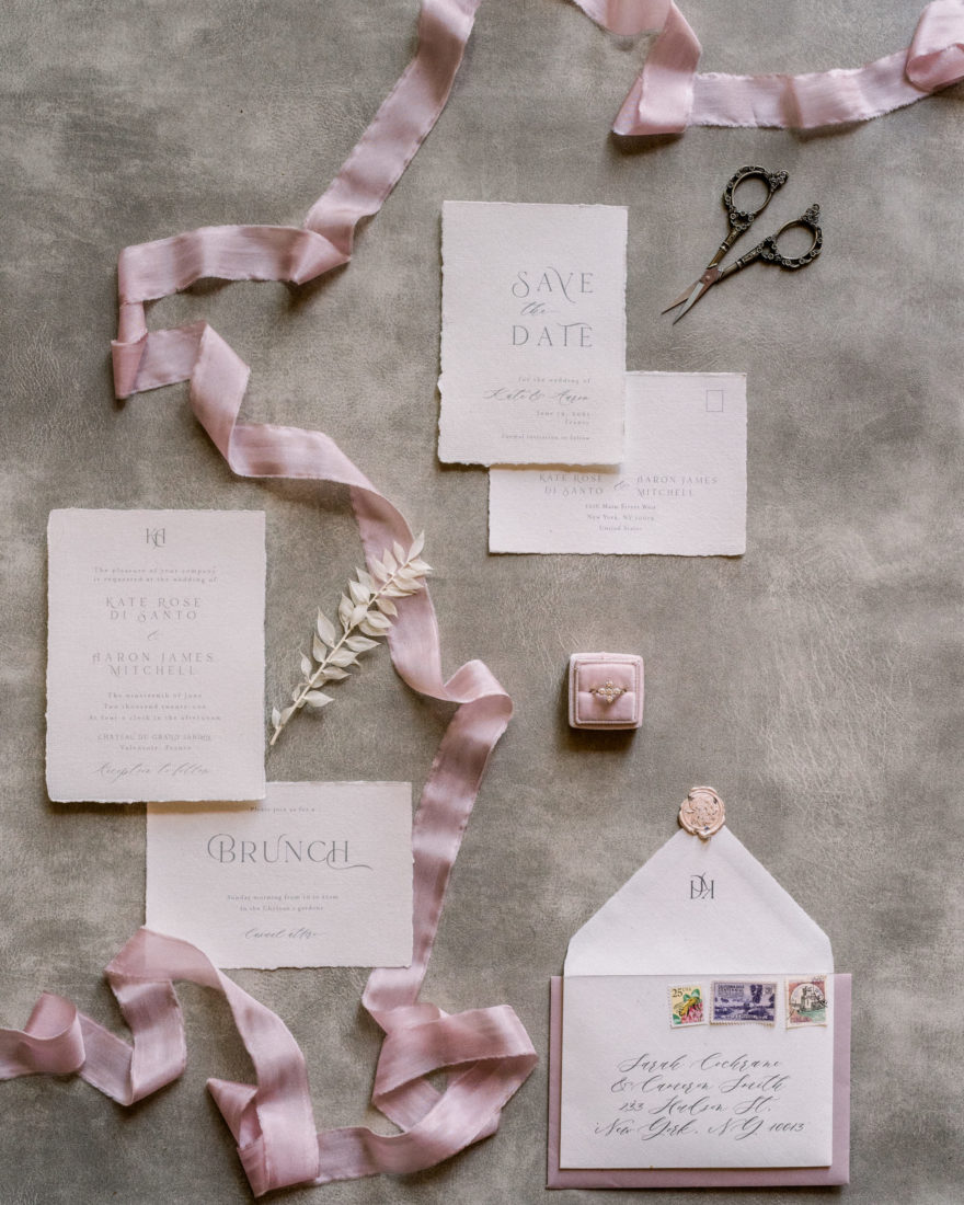 Carterie mariage provence