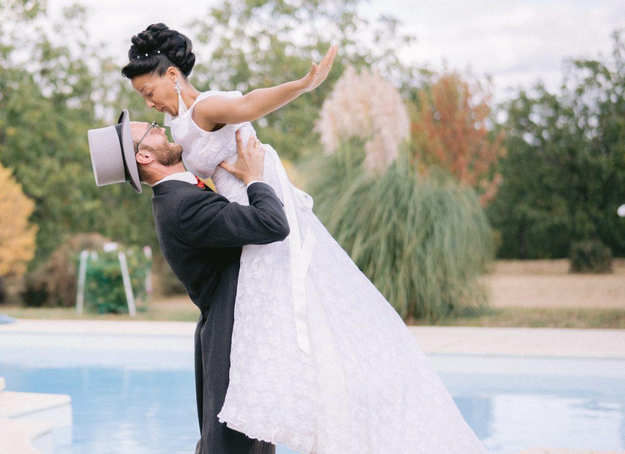 Photo mariage allemand Dordogne