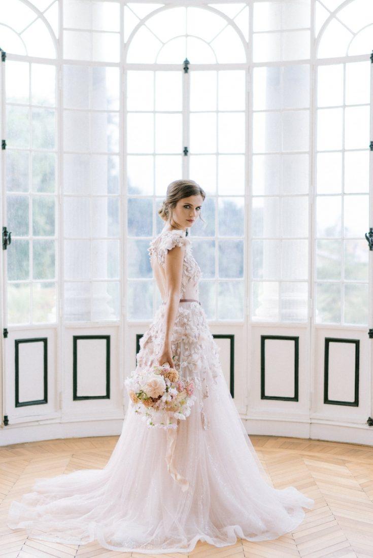 La mariée au Chateau Mader